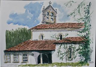 Iglesia Arroes (Asturias)