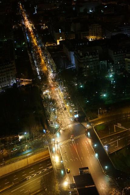 Photo:ホテルの窓から見える夜景 By HIRAOKA,Yasunobu