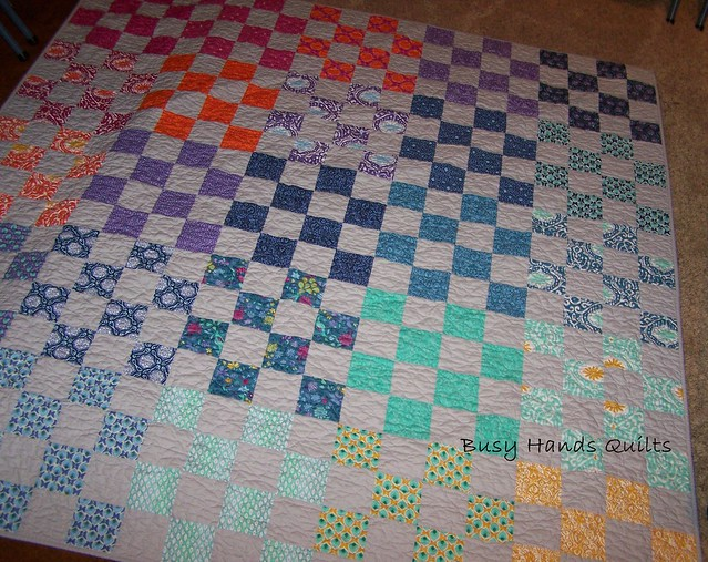 16 Patch Lap Quilt in Cuzco by Moda