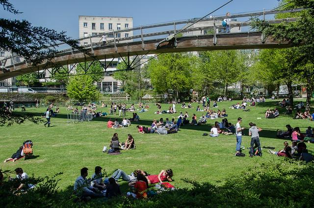 Paris Park: Jardin de Reuilly