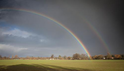 New Year Rainbow