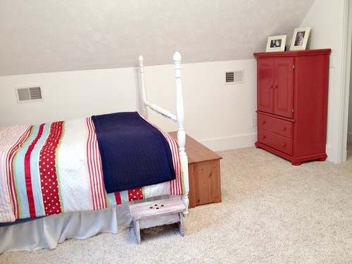 patriotic girls bedroom
