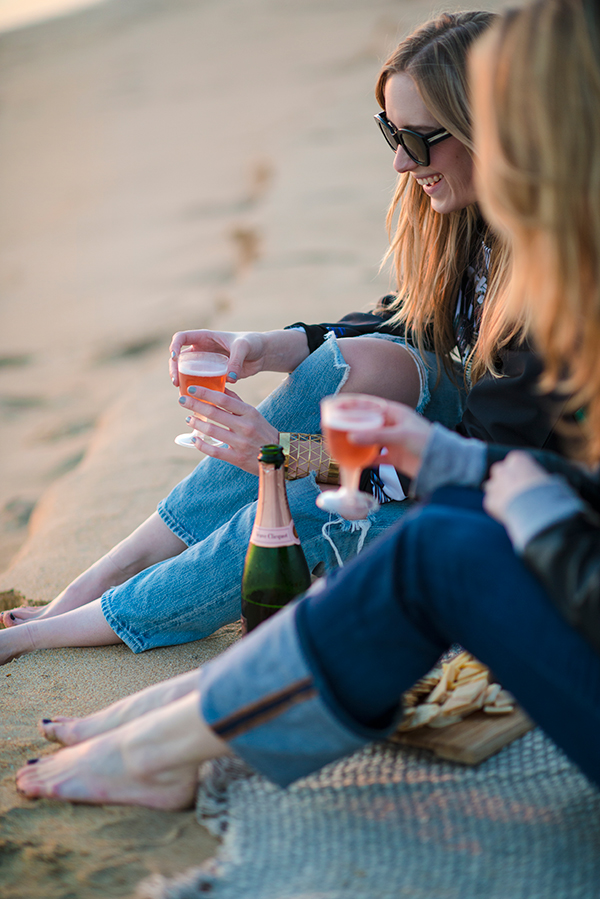 eatsleepwear, beach, happy-hour, california, champagne