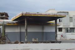 Burned Gas Station