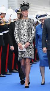 Duchess of Cambridge Leopard Print Coat Celebrity Style Women's Fashion