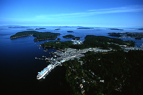 Swartz Bay Ferry Terminal, Greater Victoria, Vancouver Island, British Columbia, Canada