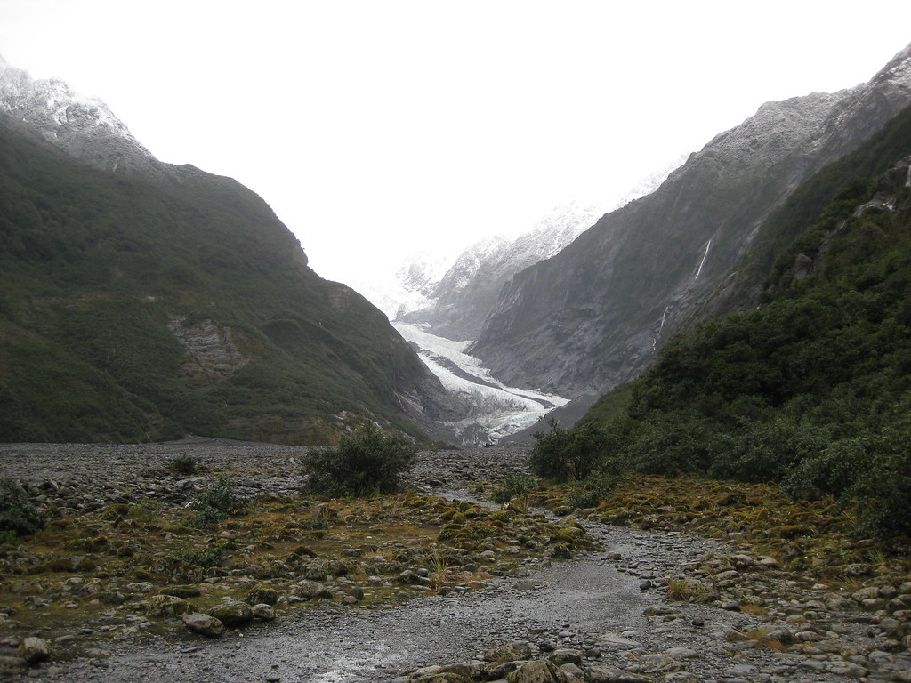 Approaching Franz Josef Glacier - New Zealand