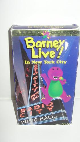 Vtg Rare Barney Live In New York City VHS PBS Radio City