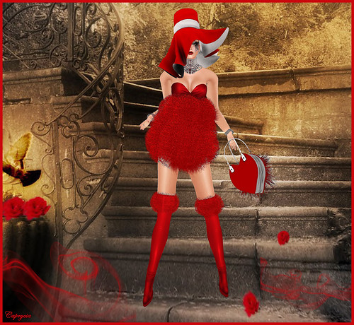 KV SIM - Valentine's Day Haute Couture - AD Creations by ♥Caprycia♥