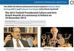 AMSS UK Awardees - Turkish Awards