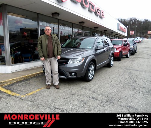 Happy Anniversary to Theodore George Gregory on your 2013 #Dodge #Journey from Thomas Haskins  and everyone at Monroeville Dodge! #Anniversary by Monroeville Dodge