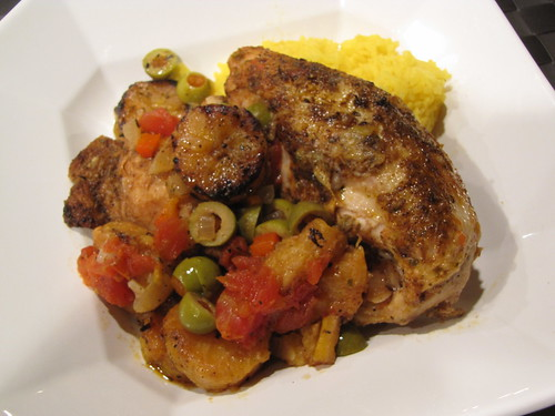 Chicken with Sweet Plantains