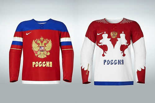 Sochi: Uni Watch - Grading Russia, United States, Canada And The Rest Of The Olympic Hockey Jerseys