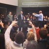 History! Bill Gates, Satya Nadella, and Steve Ballmer at the CEO announcement #Microsoft by djspyhunter