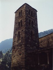 Andorra. Iglesia románica de Sant Joan de Caselles