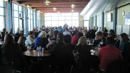 Great crowd at our Behind the Headlines event, The Business Case for Promoting Women on Feb. 6, 2014.