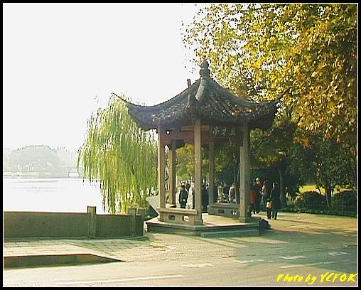 杭州 西湖 (其他景點) - 222 (白堤結束點 西冷橋旁的慕才亭)