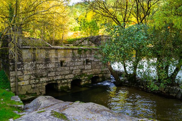 Molino en el Río Avia