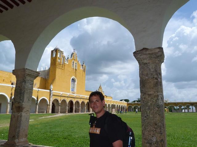 Sele en el convento de San Antonio de Padua en Izamal (Yucatán, México)