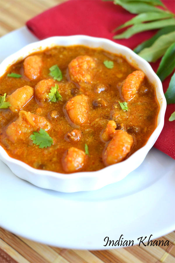 Prawns Chickpeas Curry