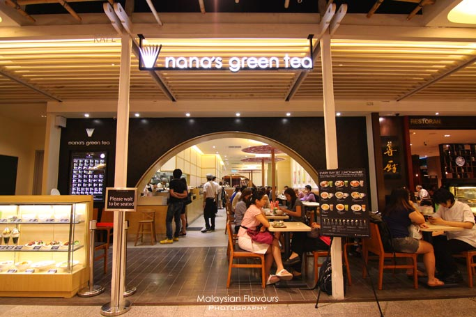Nana S Green Tea Cafe The Gardens Mid Valley Malaysian Flavours