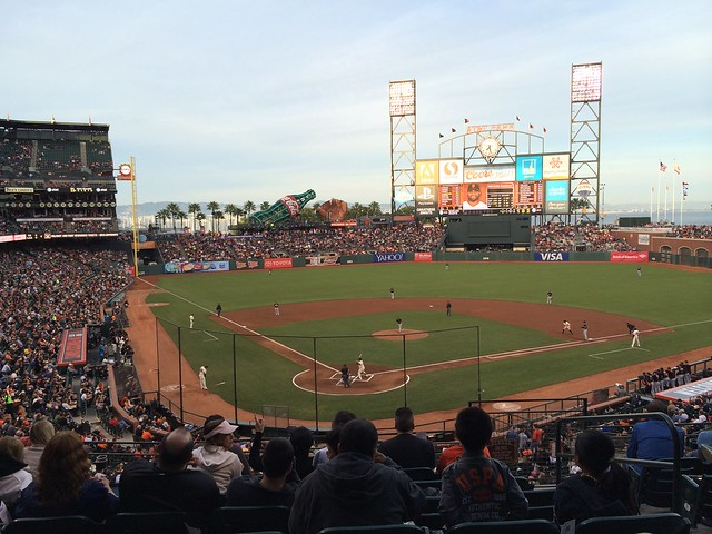 SF Giant's baseball game, AT&T Park