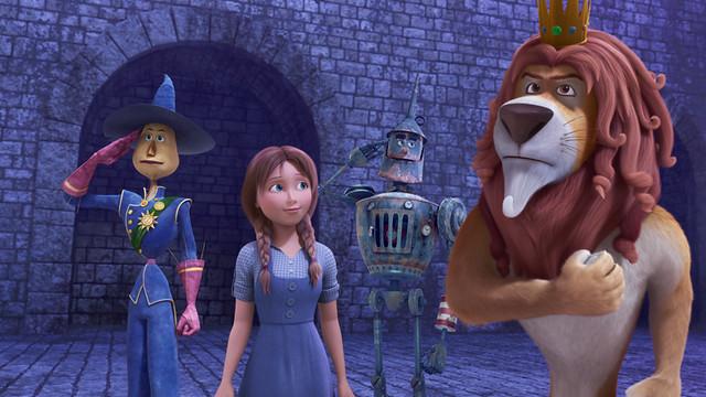 Scarecrow, Dorothy, Tin Man &Amp; Lion