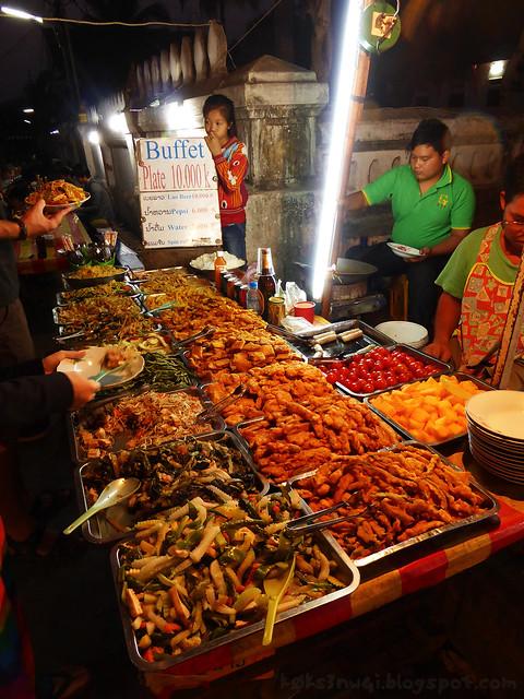 Luang Prabang Roadside Food