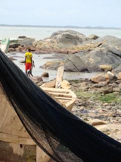 Feed the Future supports sustainable fishing practices along Ghana's coastline. Takoradi, Ghana