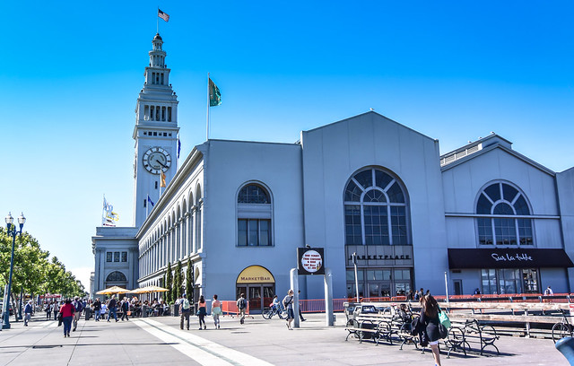 Ferry Terminal and Clock Tower - San Francisco CA