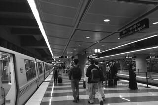 SFO - BART station