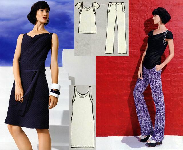 Burda-June-2014_Strap Dress and Top
