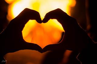 Mit dem Herzen