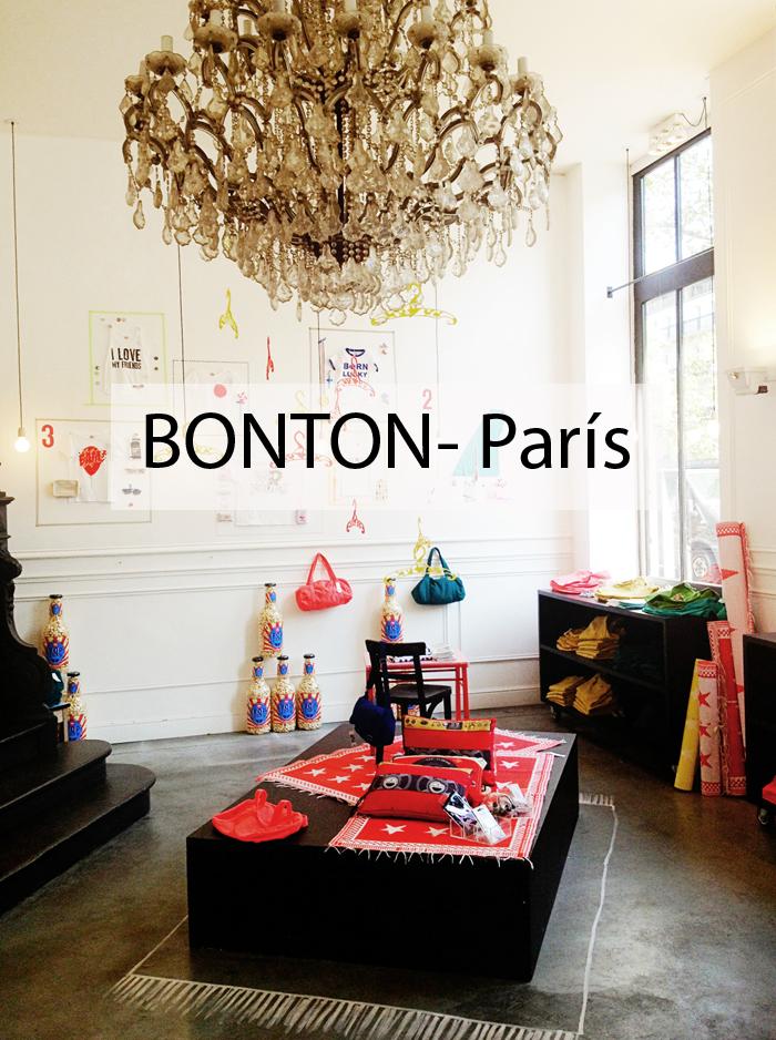Bonton París , concept store