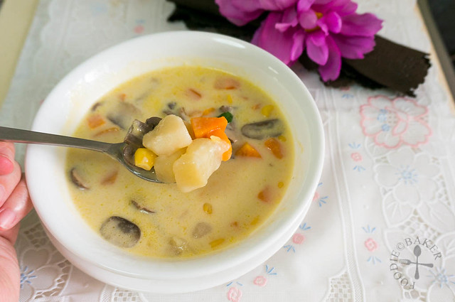 Wholesome Vegetable Chowder