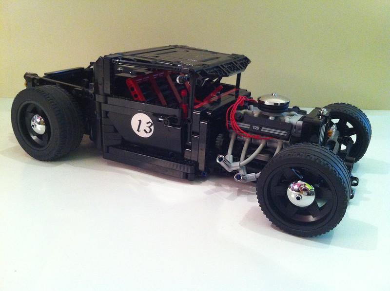 MOC] Hot Rod - Lucky 13 - LEGO Technic, Mindstorms & Model Team ...