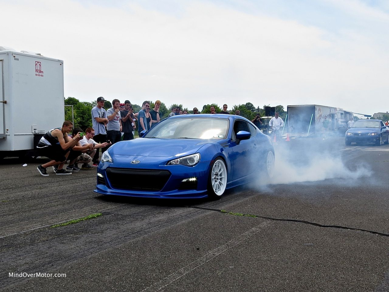 Subaru BRZ Burnout