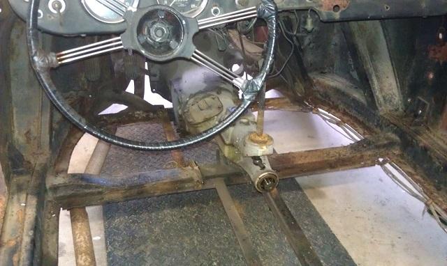 MM MGA Wing and Brake Removal1