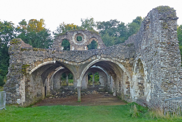 Waverley Abbey ruins (1)
