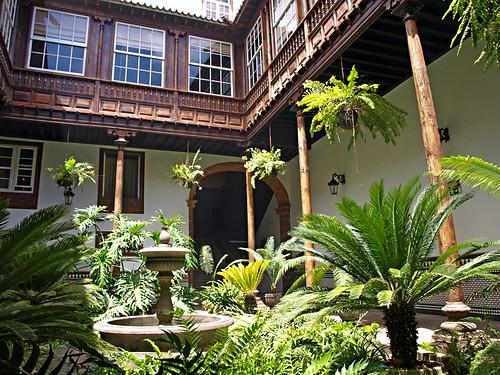 Inner Courtyard, La Laguna, Tenerife