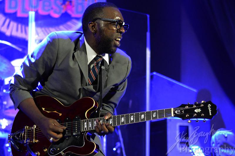 Mr Sipp performing at the Bottleneck Blues Bar in Vicksburg, Mississippi. 07/04/14