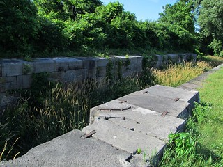 Lock #2 on the old Genesee Valley Canal along the Genesee Valley Greenway, south of Rochester, New York