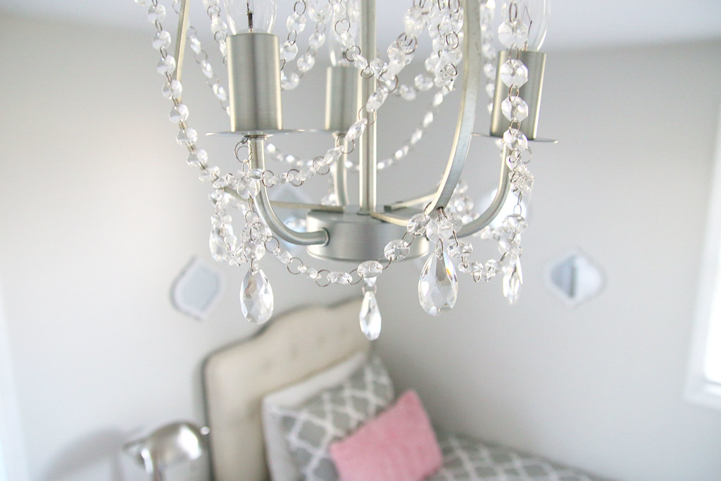 Tween Bedroom Chandelier Crystals