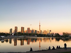 October 22, 2016 - 10:44 - Never forget, we live in the greatest city in the world..  #toronto #ontario #canada #drake #rtz #tmltalk #tfc #bluejays #summersixteen #summer16 #cntower #skyline #skydome #octobersveryown #ovo #fall #orange #red #chill #live #vibrant #ttc #kensington #j