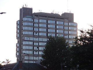 The Grade II-listed Bucks County Council Brutalist Building, Aylesbury