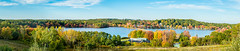 Panorama of Fort Meadow Reservoir