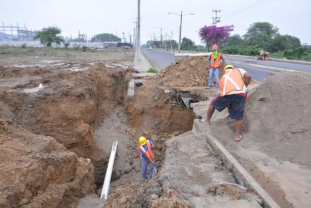 Aguas del Chuno realiza varias reparaciones en red del agua potable