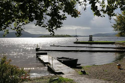 25th September 2016. Lough Derg at Mountshannon, County Clare, Ireland