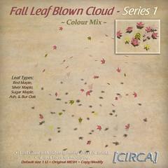 @ The Old Fair ~ [CIRCA] - Fall Leaf Blown Cloud - Series 1 - Colour Mix