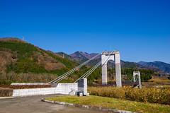 無事下山・・・戸川公園・風の吊り橋